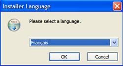 Selection du langage